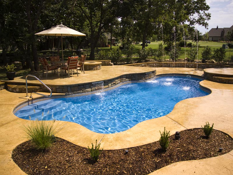 Pool Shapes And Sizes new construction